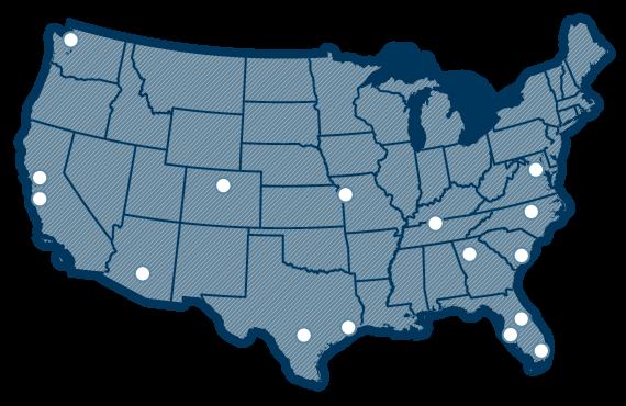 Garney-locations-map