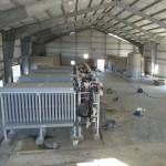 Membrane Building Interior