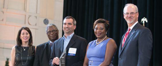Garney Wins EDC Cornerstone Award