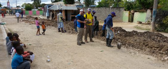 Garney installs water pipeline for Dominican Republic village