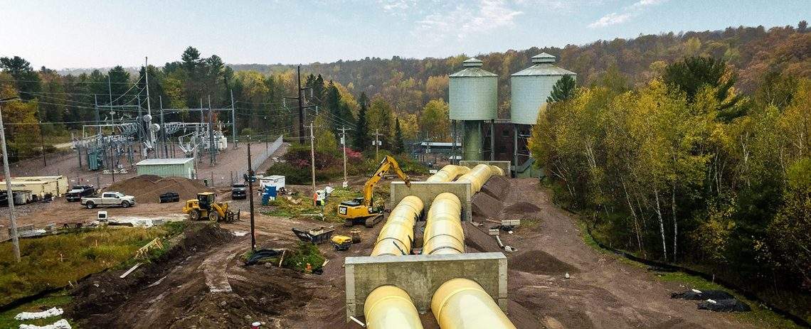 Grandfather Falls Hydro Plant Penstock Replacement