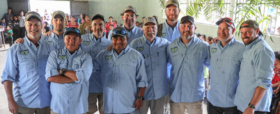 Employee-owners provide clean water to 150 Guatemalan families